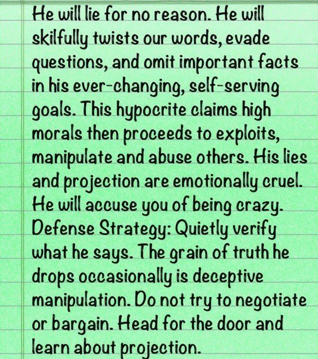 Pathological Lying: A Psychopathic Manipulation Tool