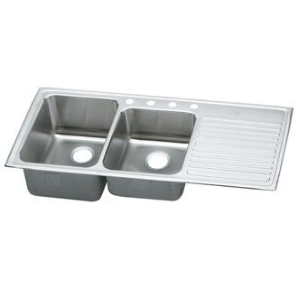 kitchen sink with drainboard probably more practical than the white rh pinterest com