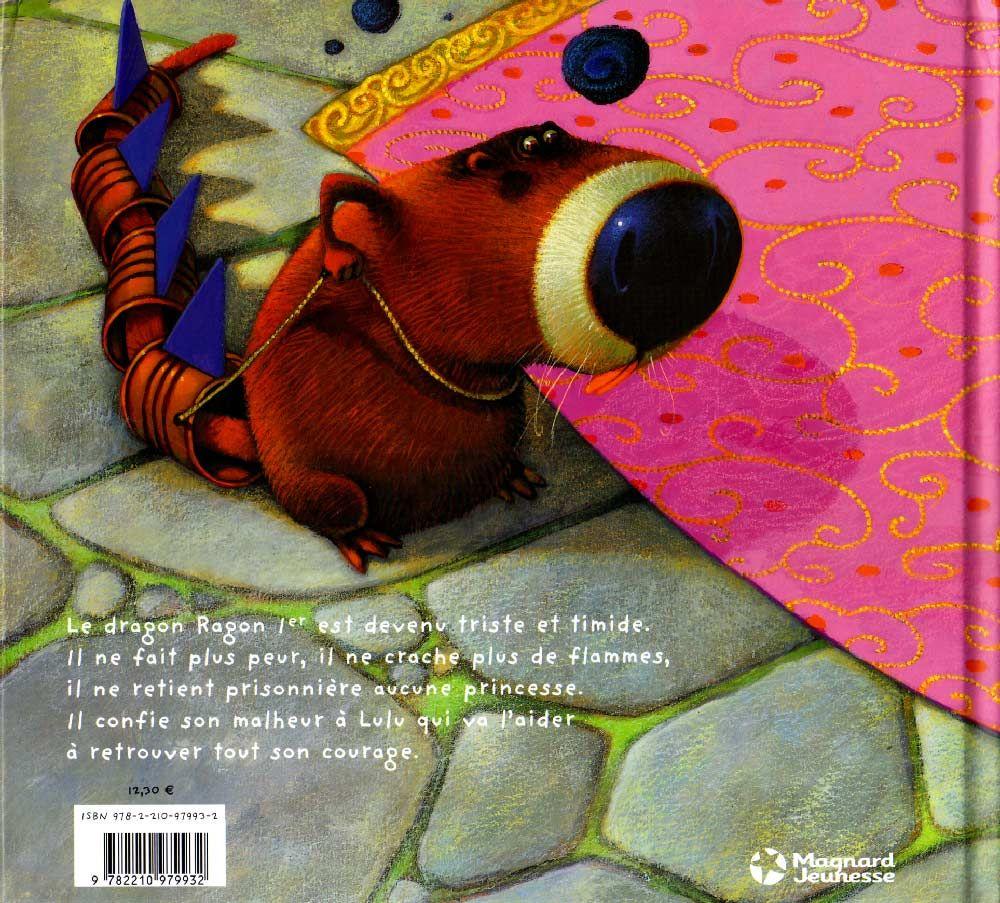 Tome 11 : Lulu Vroumette – Lulu Princesse (couverture dos)