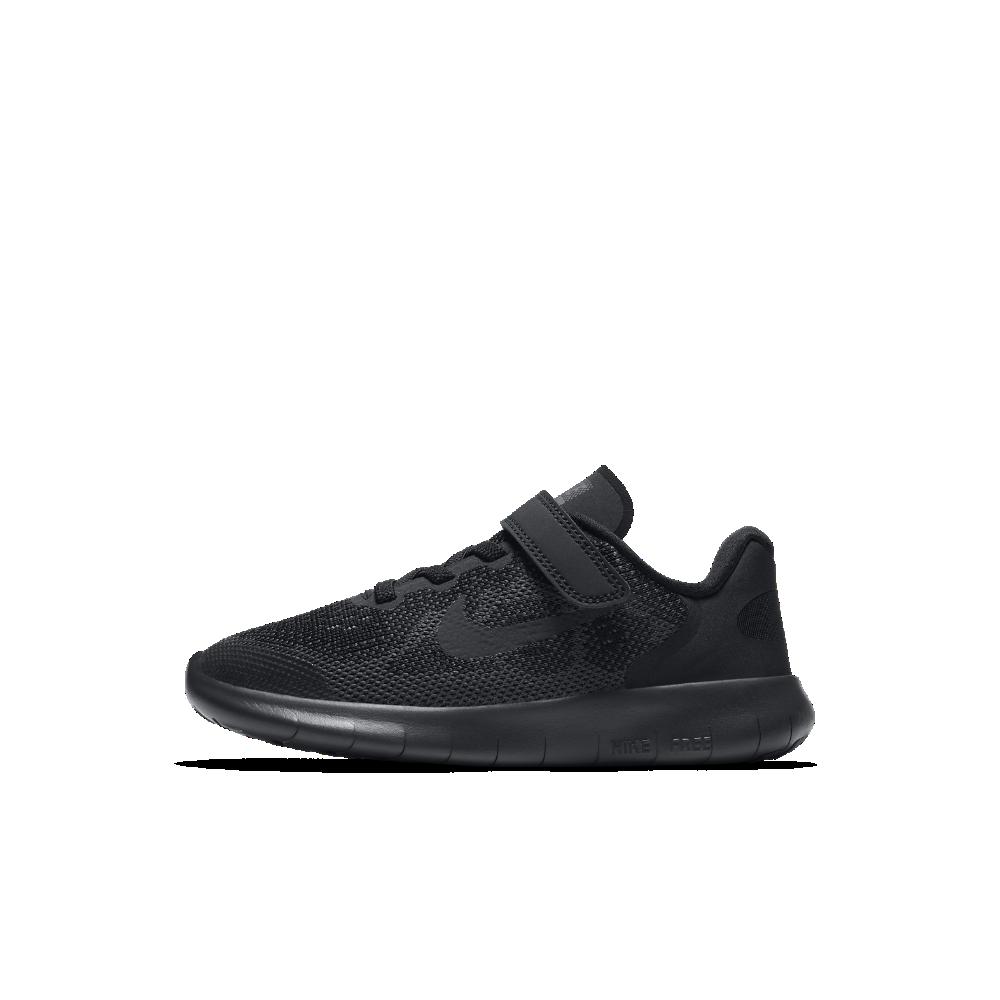 761a4b66ef9d Nike Free RN 2017 Little Kids  Running Shoe Size 11.5C (Black ...