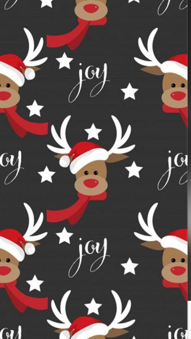 Sfondi Natalizi Renne.Pin Di Eleonora Spinelli Su Wallpaper Natale Sfondi Iphone Sfondo Natalizio Sfondi