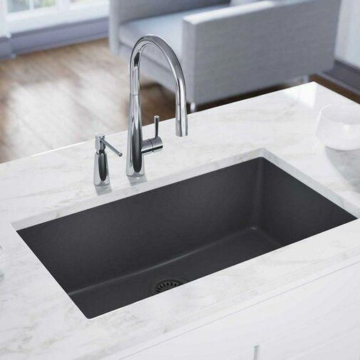 39 Granite Composite Drop In Double Bowl Kitchen Sink With