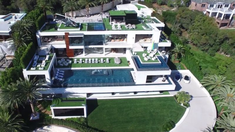 America S Most Expensive Home 250m Los Angeles Mansion Hits The