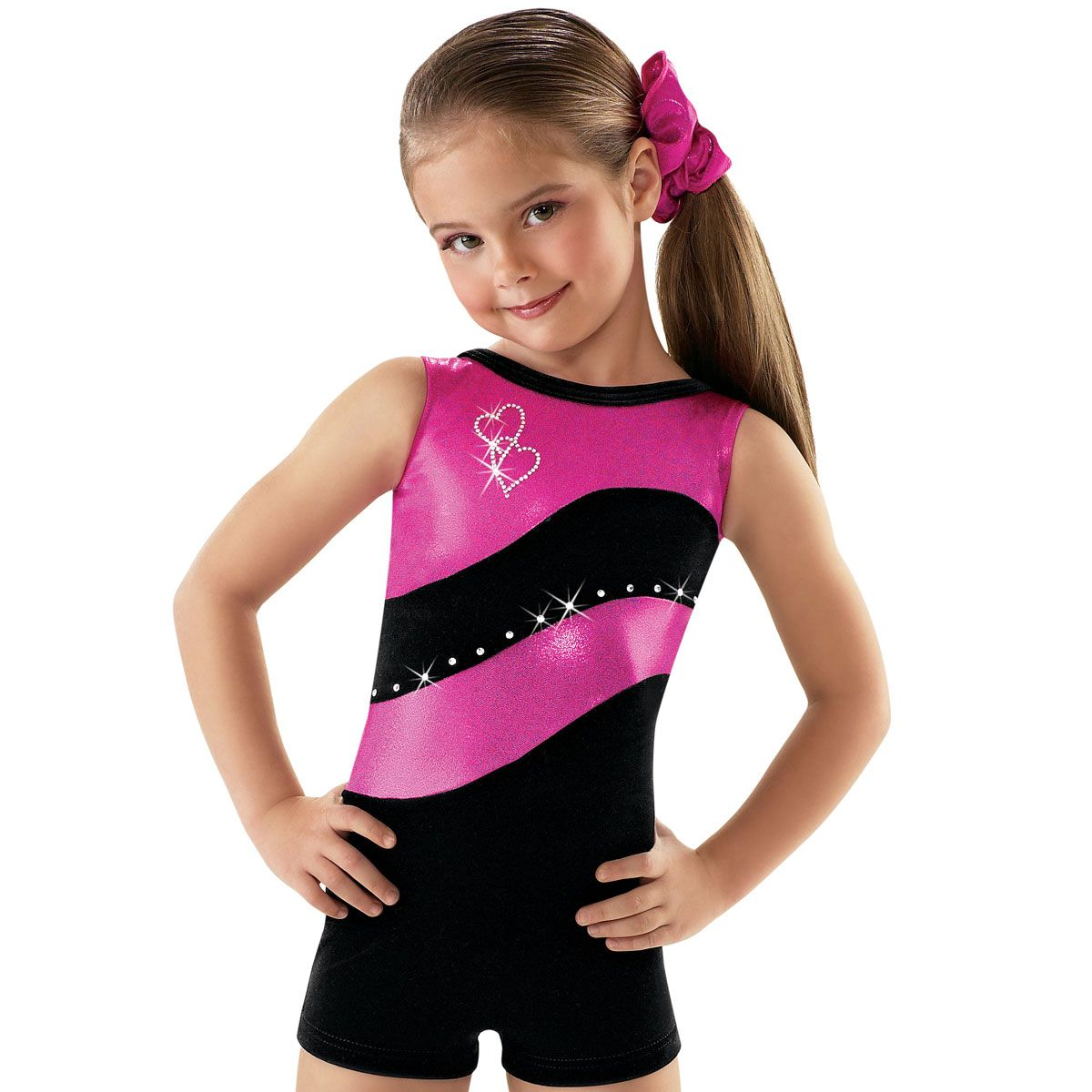 Black spandex dance unitard gymnastics and dancewear - Here Is A Nice Kids Dance And Gymnastics Biketard