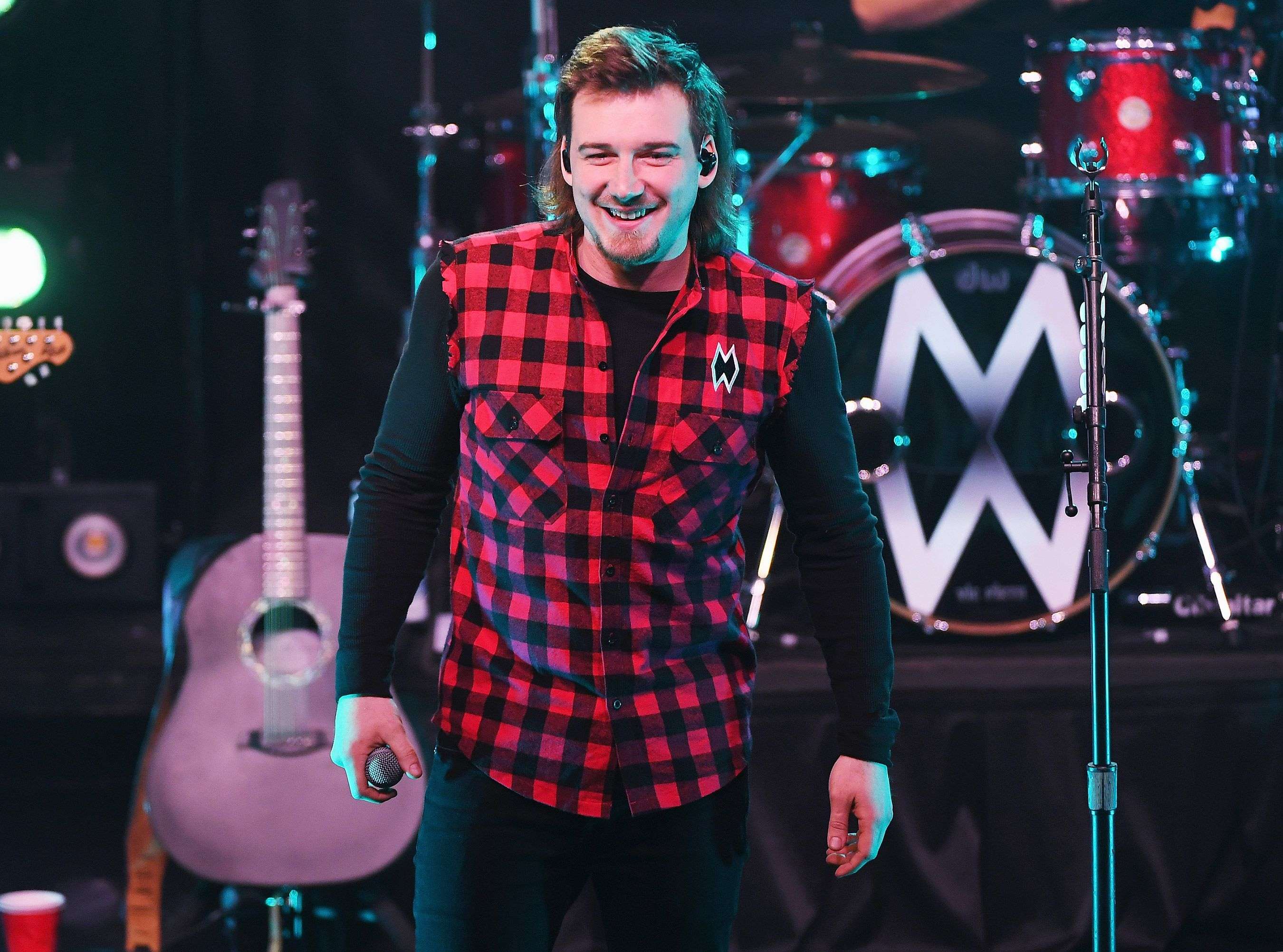 Morgan Wallen Knocks Em Out Not Back With Whiskey Glasses On His Just Completed Tour Concert Crowd Country Music Florida Georgia Line