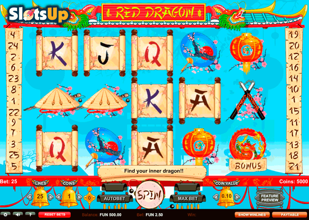 Discover Eastern mysteries and get nice rewards in the Red Dragon #slot! We can…