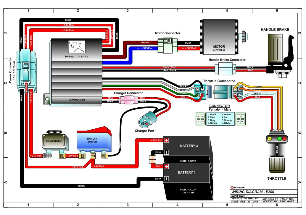 pride electric scooter 24 volt wiring diagram wiring diagram Scoobug Electric Scooter Controller Wiring Diagram wiring diagram for a e100 razor scooter wiring diagram data schemarazor scooter schematic wiring diagram all