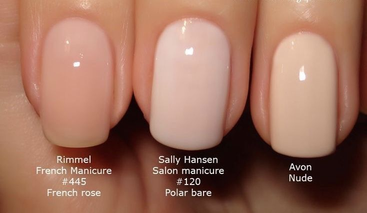 AVON Gel Finish in Nudeitude