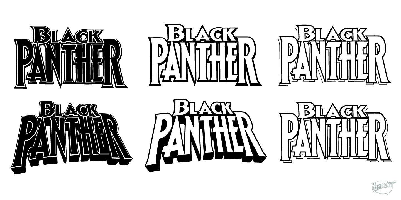 How I designed the BLACK PANTHER logo John Roshell