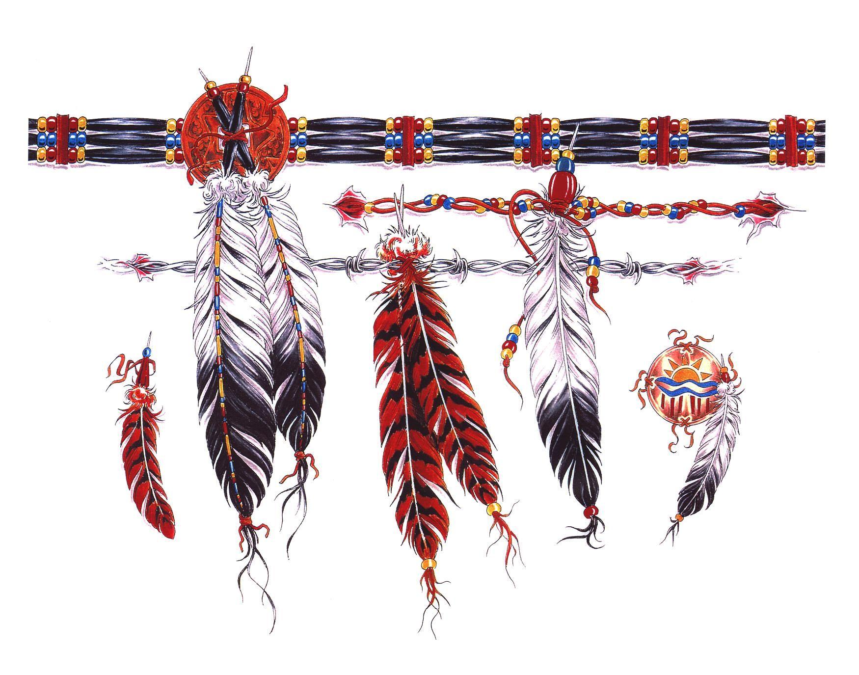feather hand tattoos | Craft Crazy Tattoo Fareham: Indian Feather ...