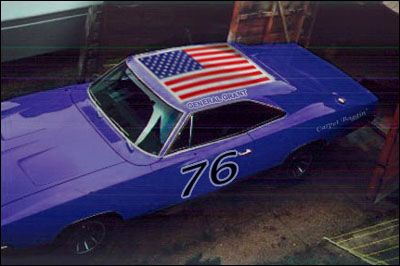 The General Grant Cars Movie Classic Race Cars General Lee