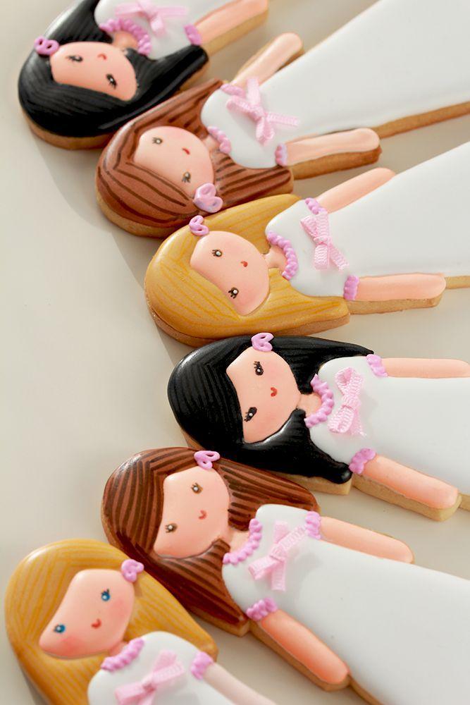 Postreadicción galletas decoradas, cupcakes y pops: Más galletas de comunión //Nadie se las va a querer comer :O