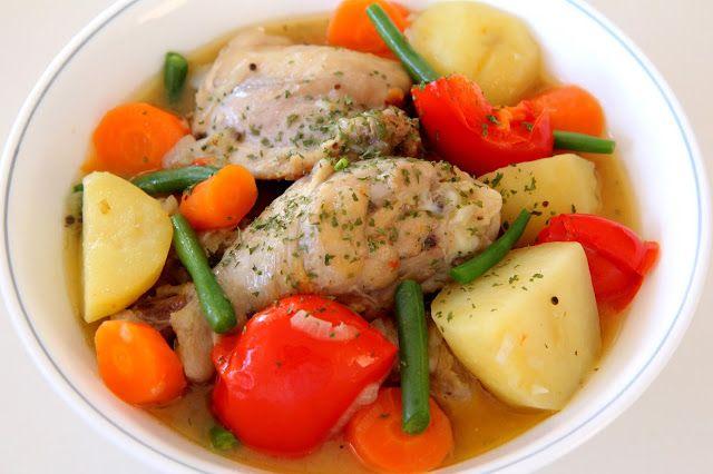 Adventures Of A Little Foodie: Honey Mustard Chicken & Vegetable Stew