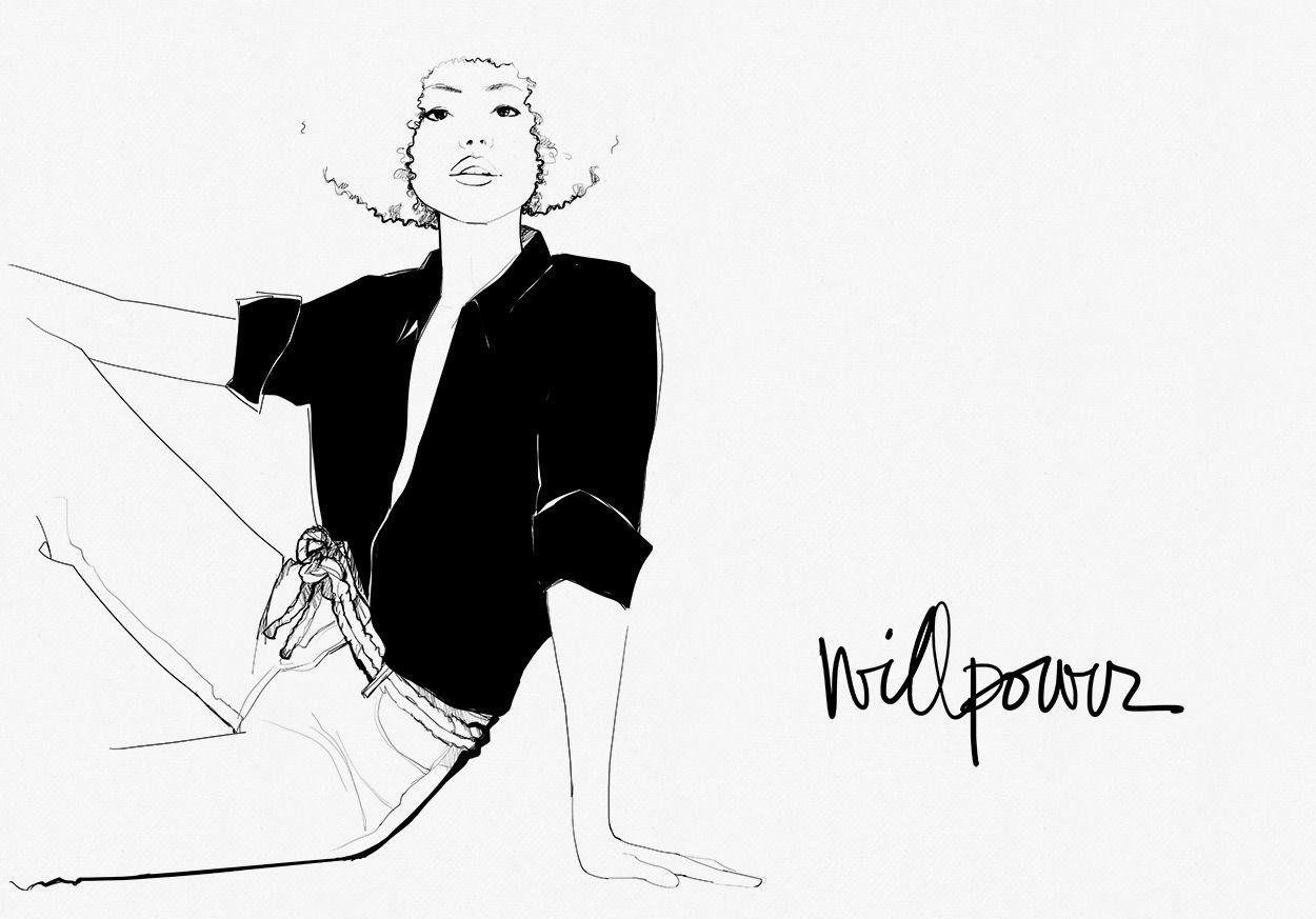 Willpower garance 39 s diary illustration art - Dessin parisienne ...