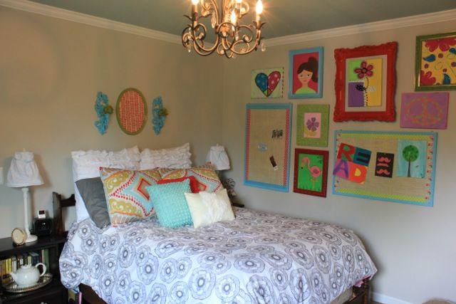 Purple Chandelier For Girls Room