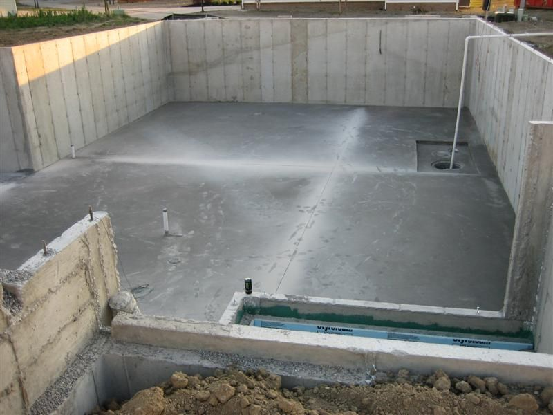 Basement construction google search foundations for Basement foundation construction