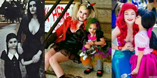 15 Matching Mother-Daughter Halloween Costume Ideas Love - mother daughter halloween costume ideas