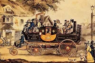 automovil vapor pasajeros