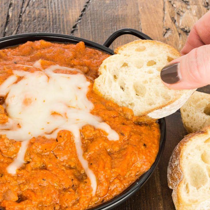 Hot Pizza Dip Recipe Appetizers With Onions Lean Ground Beef Pizza Sauce Fennel Seeds Dried Oregano Popular Appetizers Pizza Dipping Easy Appetizer Recipes