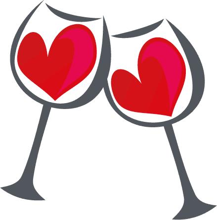 Brindis De San Valentin Vector Dibujos De San Valentin San Valentin Vector San Valentin