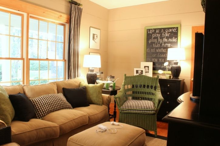 Neutral Room With Black Check With A Bold Color   Love! Youu0027ve Been