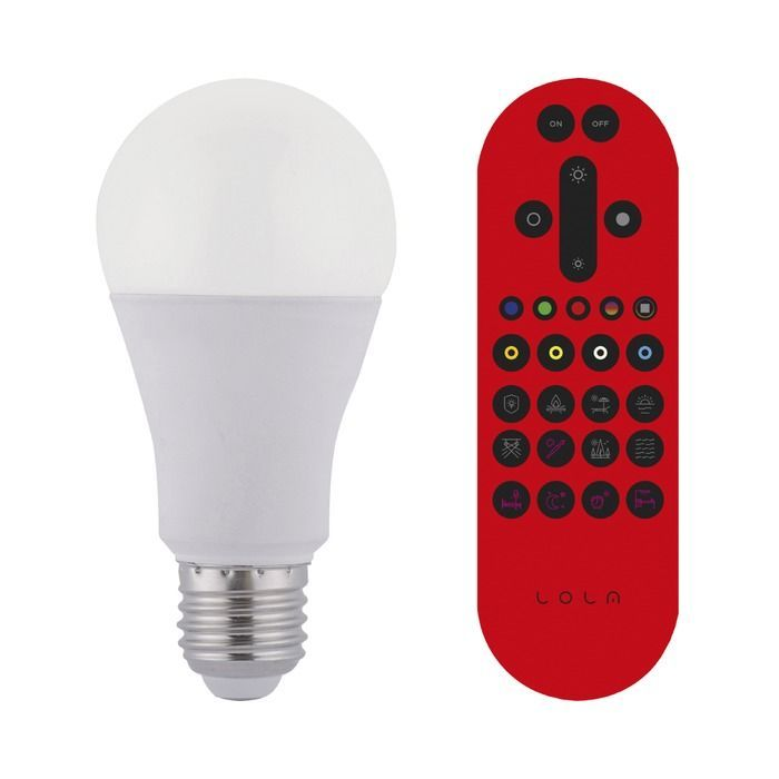 Led Lamp E27 10watt Energie A Wit Metaal In 2020 Led Bulb Remote Bulb