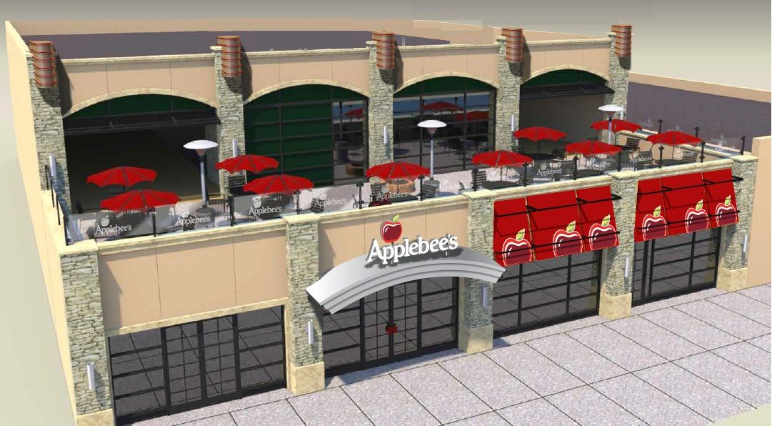 A Sneak Peak Of What Applebee S Coney Island Will Look Like Comebackconey Coney Island Island Lego Building