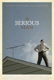 Um Homem Sério Poster