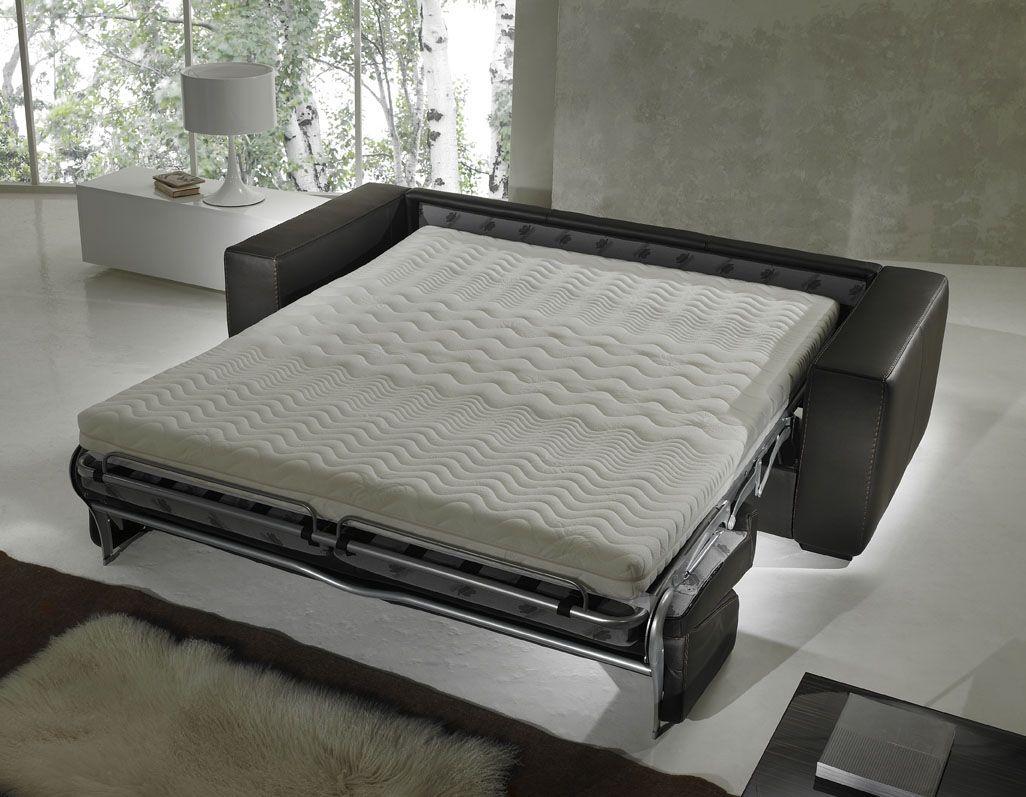 Schlafsofa Mit Memory Foam Matratze Sessel Bequemes