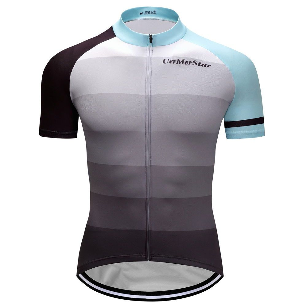 Men Cycling Shorts Jersey Short Sleeve Bike Sport Jersey Summer Tops  Outdoor New 9495bc139
