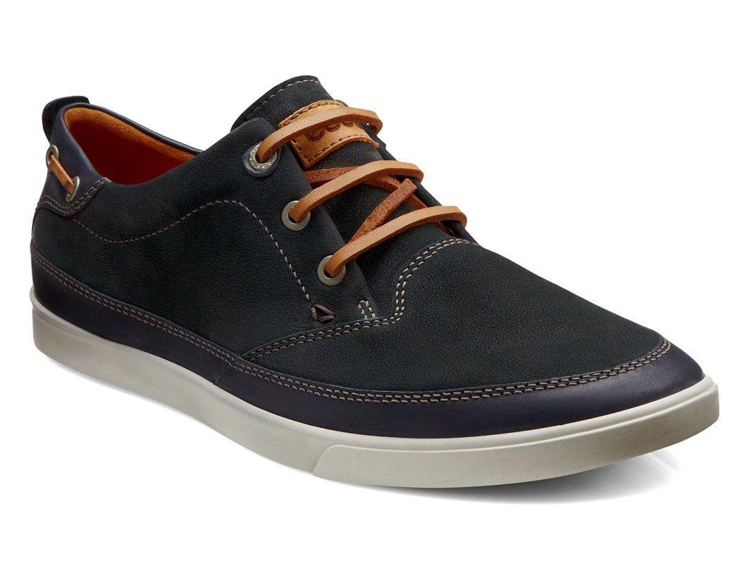 ECCO Eisner Tie Shoe para hombres, titanio, 41 EU / 7-7.5 M EE. UU.