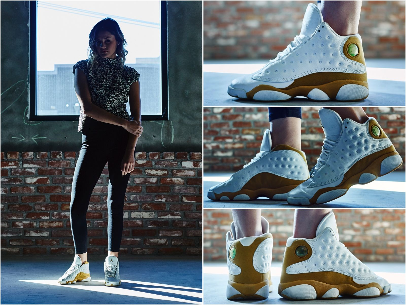 """finest selection 6ad96 8c31c ON-FOOT LOOK  TBT EDITION    AIR JORDAN 13 """"WHEAT"""""""