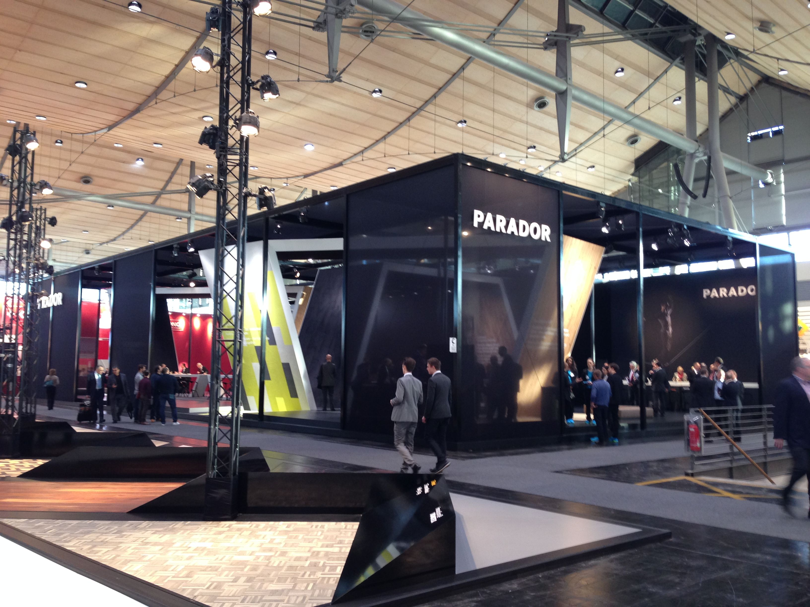 Parkett Hannover der parador messestand auf der domotex 2014 in hannover messe