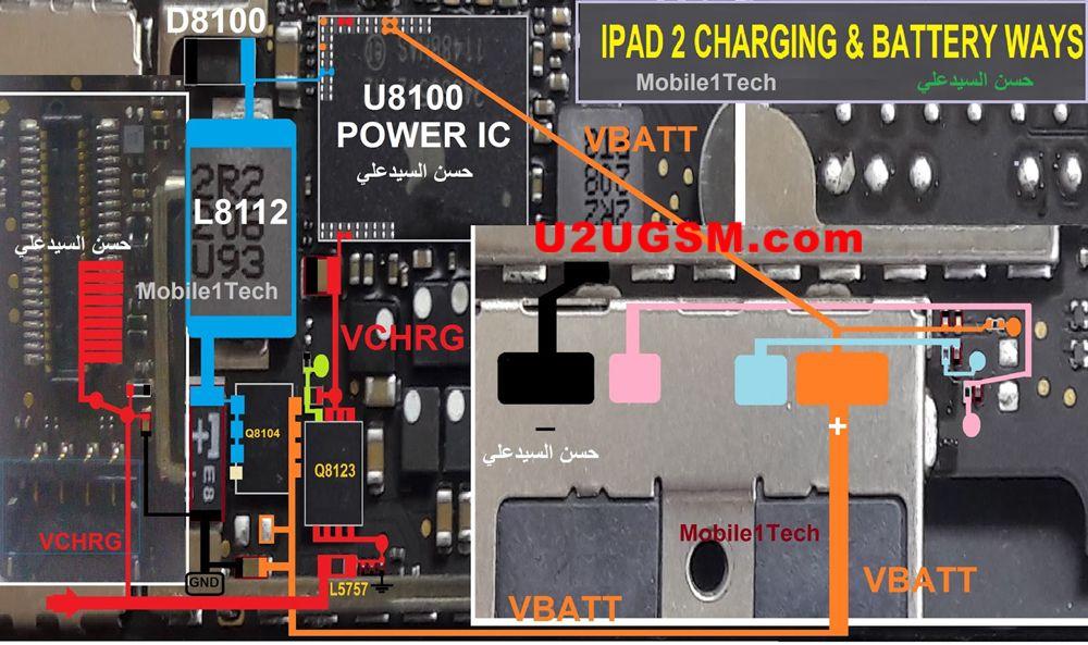 Apple ipad 2 charging problem solution jumper ways no