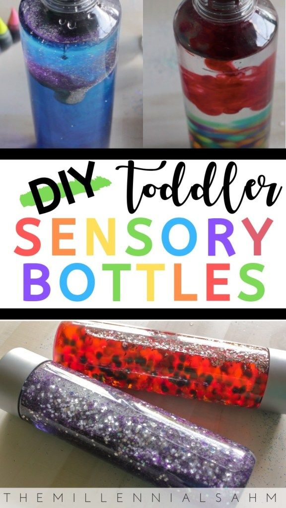 Photo of DIY Toddler Sensory Bottles – The Millennial Stay-At-Home Mom