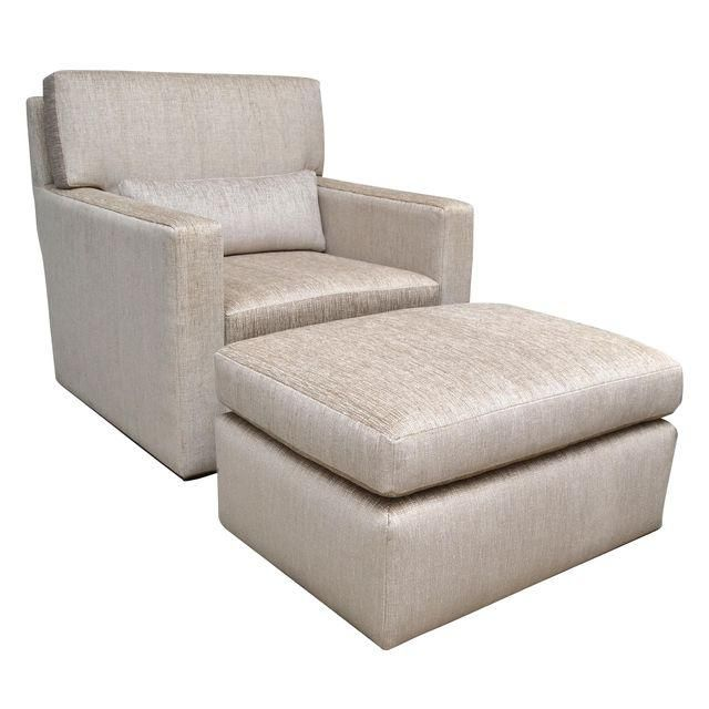 Contemporary Lounge Chair With Ottoman Chairs Pinterest Ottomans And