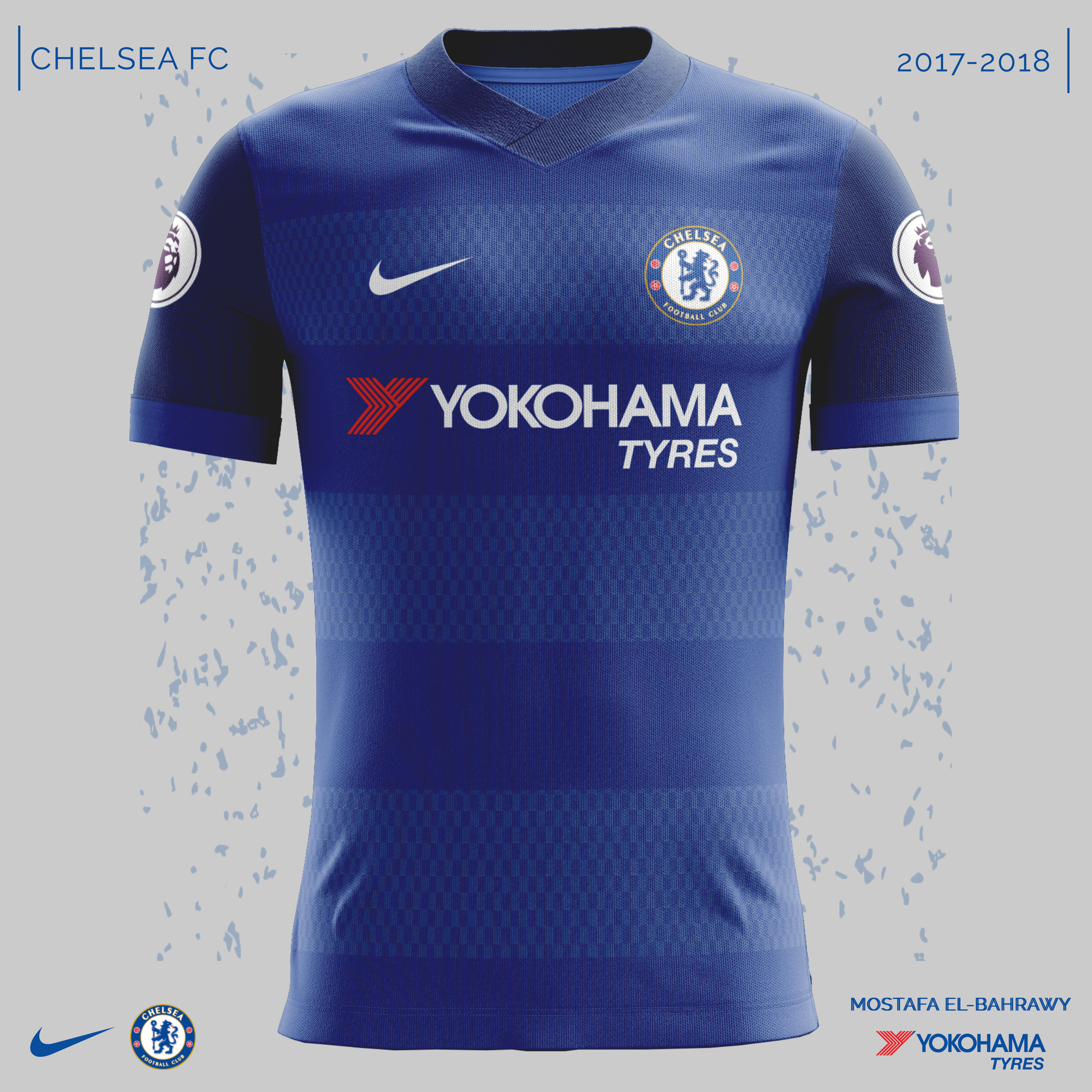 68151c23904 Chelsea had agreed a new deal with Nike so these are my Fantasy Kits for  2017-2018 kits .