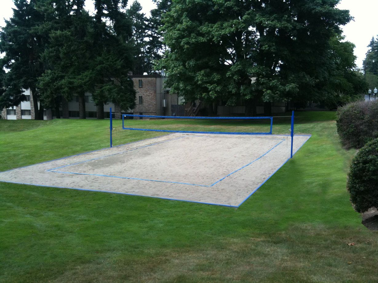 How To Construct A Volleyball Court | Beach volleyball ...