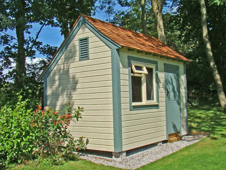 Image result for asymmetrically pitched garden shed | Shed ...