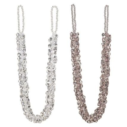 Crystal Jewelled Curtain Tie Back Acessorios Artesanal Cortina