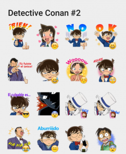 Detective Conan 2 Sticker Set Detective Conan Wallpapers Detective Conan Sticker Set