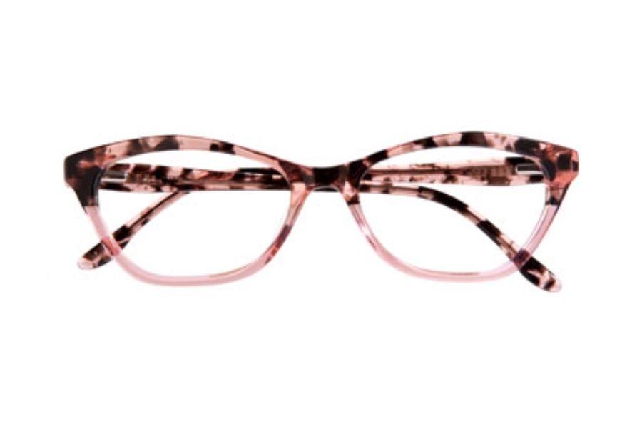 84234e03c31c BCBG Max Azria Julietta Eyeglasses in Blush Tortoise (BLS)