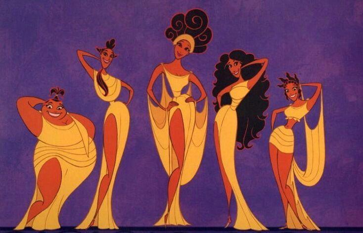 Las 5 Musas De Hercules
