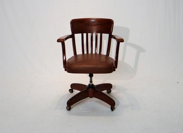 German Desk Chair, 1950s for sale at Pamono