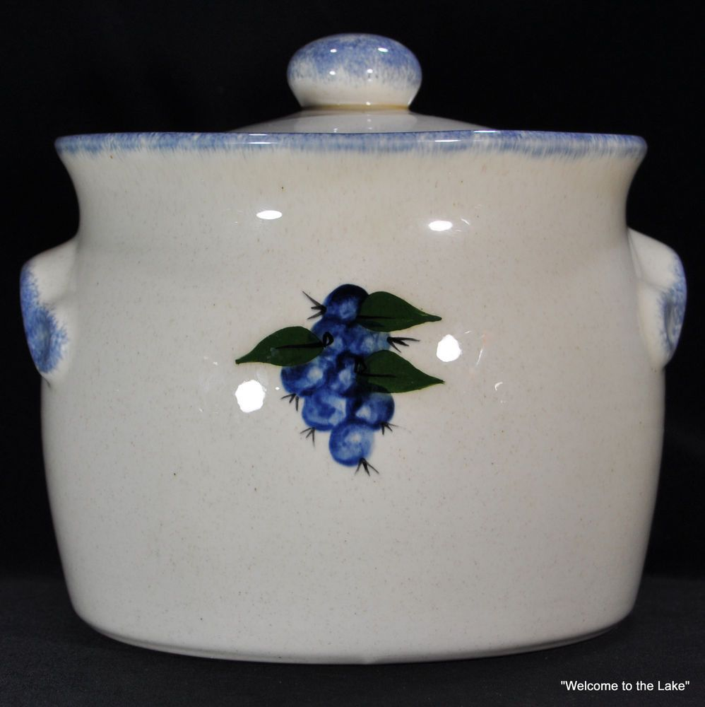 Cookie Jar Maine Adorable Maine Pottery  Hancock Maine Hand Thrown Covered Bean Potcookie Inspiration Design