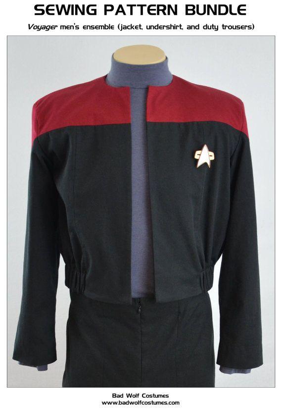 star trek next generation uniform guide