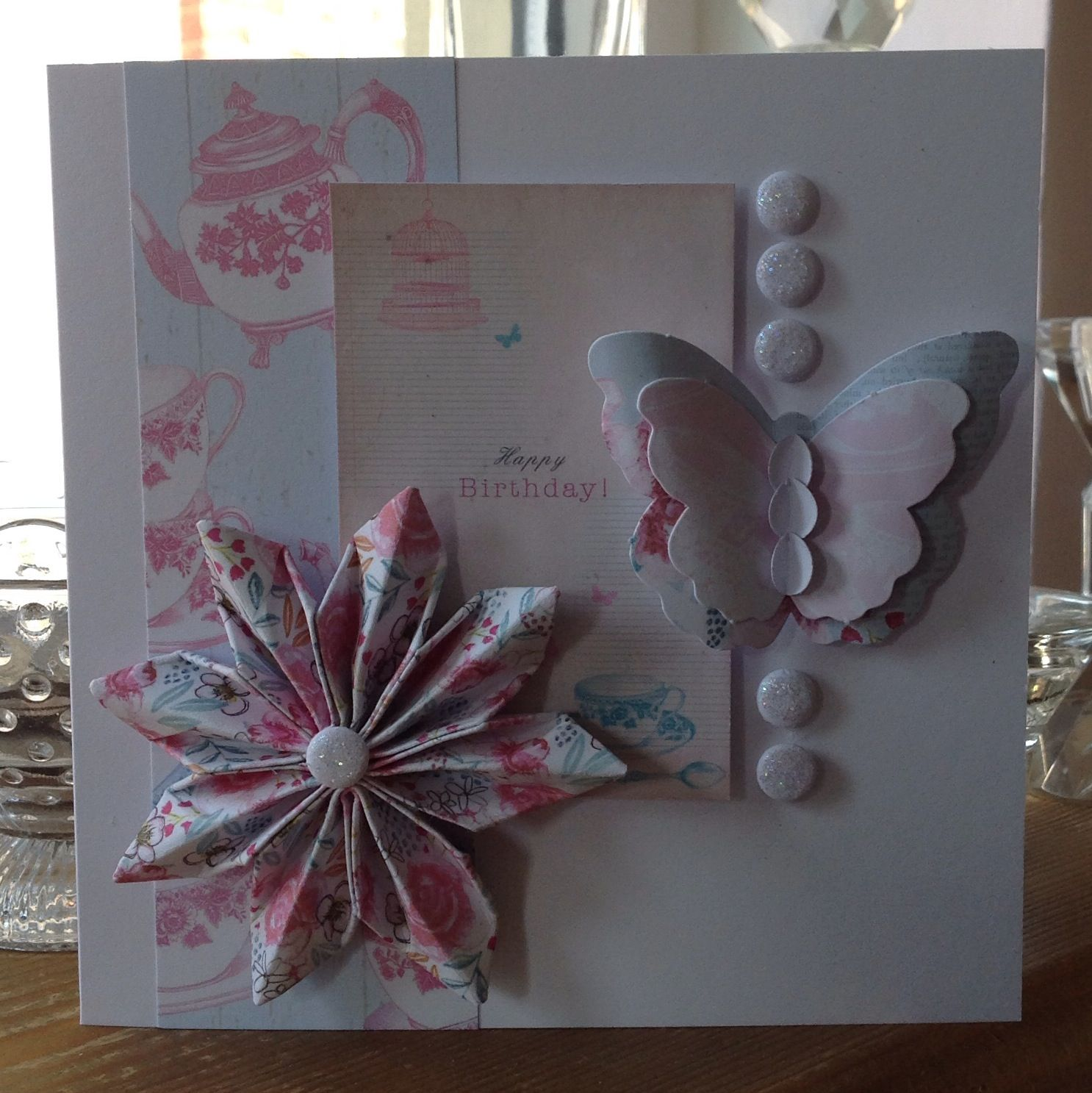 Card designed by Julie Hickey using Afternoon Tea.