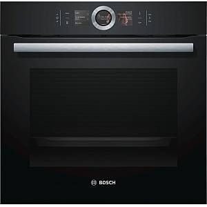 Buy Bosch Serie 8 HBG6764B6B Single Built In Electric Oven - Black | Marks Electrical