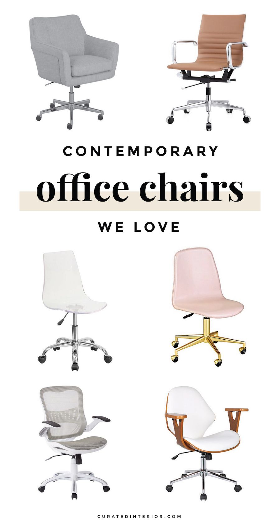 12 Perfect Office Chairs For The Girlboss In You Office Chair Design Office Chair Modern Office Chair