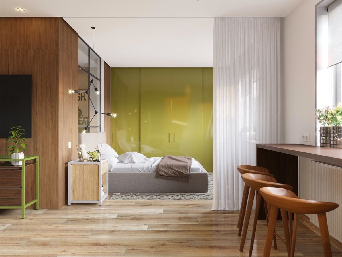 5 Beautiful Studio Apartments | Scandinavian & Nordic Interior ...